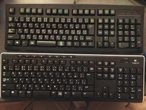 キーボード比較2