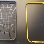 iPhone6 SPIGEN ハイブリッド・ケース レビュー